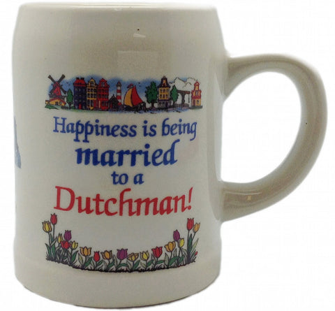 Dutch Gift Coffee Cup: Married to a Dutchman - DutchNovelties