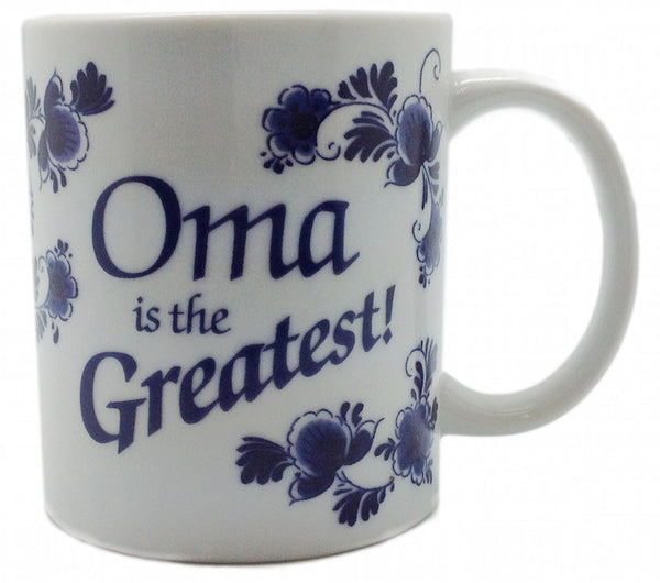 Gift for Oma Coffee Cup - DutchNovelties  - 1