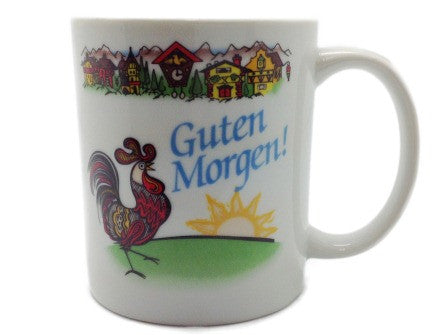 """Guten Morgen"" German Gift Mug - DutchNovelties  - 1"