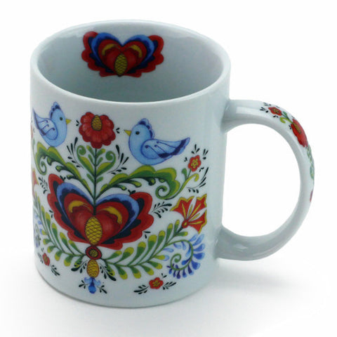 Ceramic Lovebirds Coffee Cup - DutchNovelties