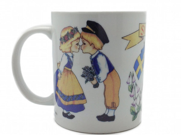 Unique Swedish Gift 3 Graphic Coffee Mug - DutchNovelties  - 1