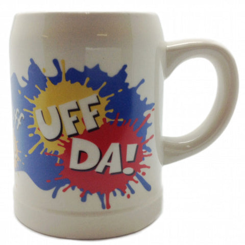 Uff Da Norwegian Gift Idea Coffee Mug - DutchNovelties  - 1