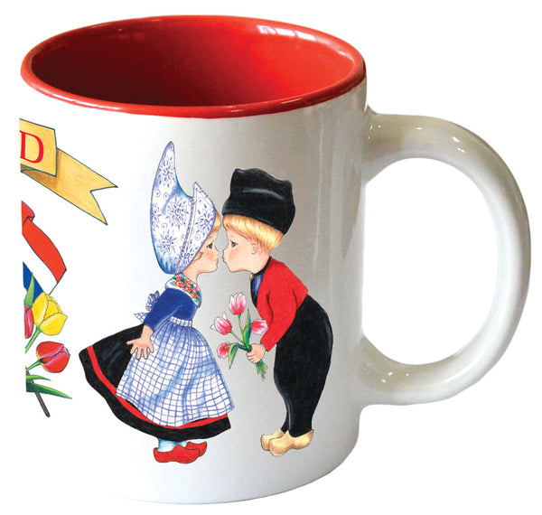 """I Love Holland"" Dutch Themed Gift Novelty Coffee Cup"