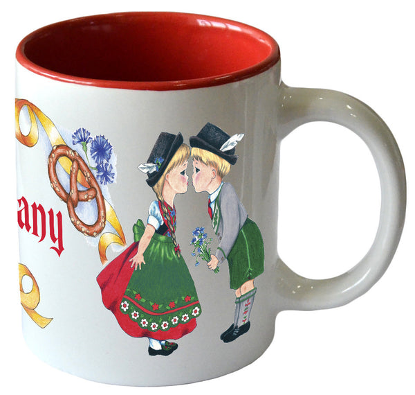 """I Love Germany"" Ceramic Coffee Cup - DutchNovelties"