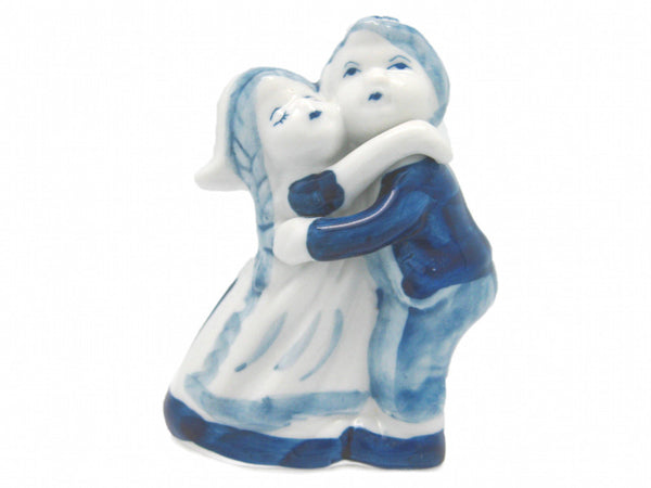 Delft Blue Figurine Dancing Couple Dutchnovelties