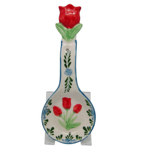 Dutch Gift Kitchen Spoon Rest Color Tulip - DutchNovelties  - 1