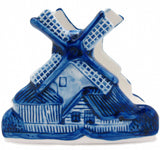 Napkin Holder with Windmill Delft Blue - DutchNovelties