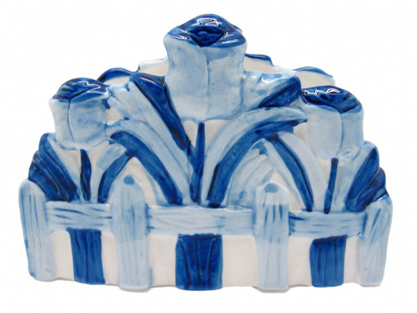 Napkin Holder with Tulip Delft Blue - DutchNovelties