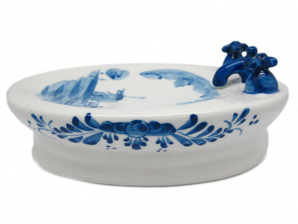 Blue and White Soap Dish - DutchNovelties  - 1