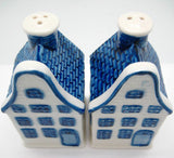 Delft Blue Houses Salt and Pepper Set - DutchNovelties  - 3