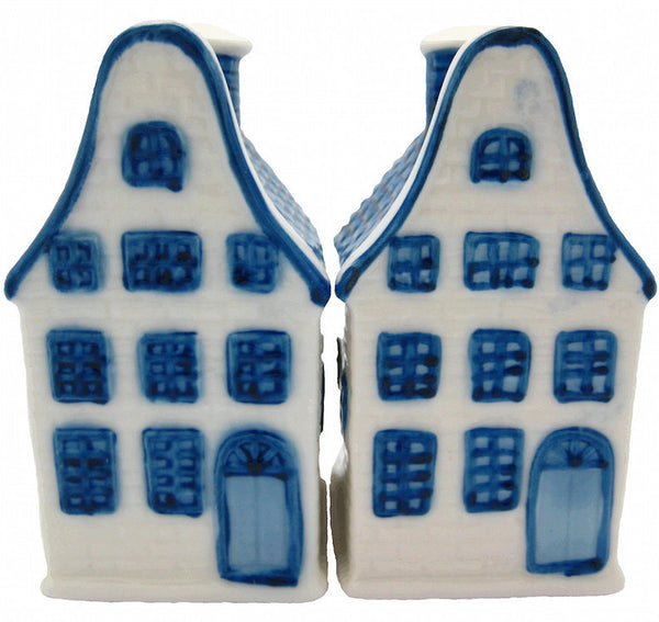 Delft Blue Houses Salt and Pepper Set - DutchNovelties  - 1