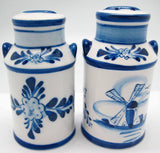 Delft Milk Cans Salt and Pepper Set - DutchNovelties  - 3