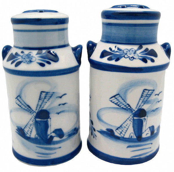 Delft Milk Cans Salt and Pepper Set - DutchNovelties  - 1