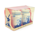 Collectible Delft Blue Salt and Pepper Set: Milk Cans - DutchNovelties  - 2