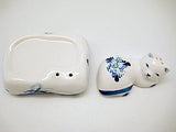 Delft Cat on Pillow Salt and Pepper Set - DutchNovelties  - 4
