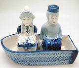 Delft Boat Salt and Pepper Set - DutchNovelties  - 2