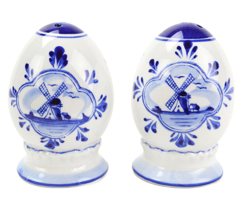 Egg Set Delft Salt and Pepper Shaker - DutchNovelties  - 1