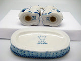 Cows Basket Delft Salt and Pepper Shaker - DutchNovelties  - 5