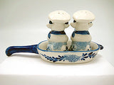 Chef Cows Delft Salt and Pepper Sets - DutchNovelties  - 4