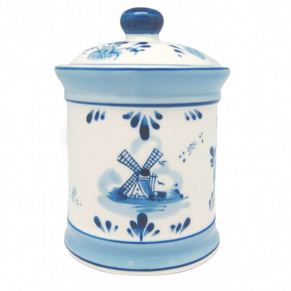kitchen canisters blue ceramic coffee canister delft blue dutchnovelties 12962