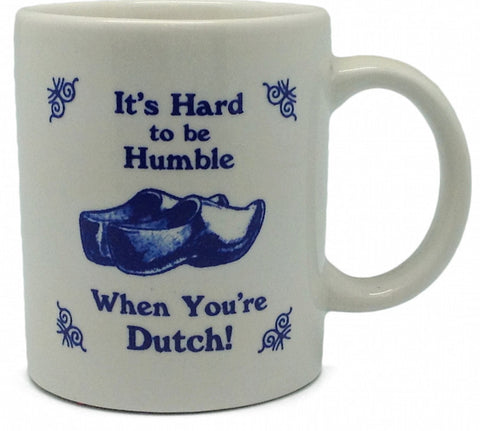 Dutch Coffee Cup: Humble Dutch - DutchNovelties