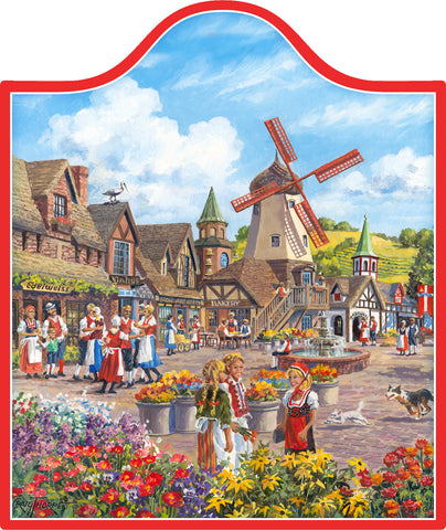 Windmill Landscape: Decor Trivet - DutchNovelties