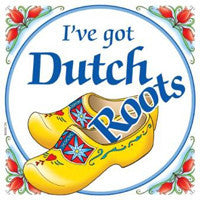 Dutch Gift Tile: Got Dutch Roots - DutchNovelties