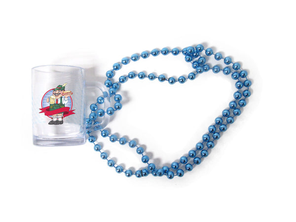 Oktoberfest Beads Beer Mug With German Man - DutchNovelties