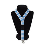 Oktoberfest Lanyard Checkered Bavarian Design - DutchNovelties