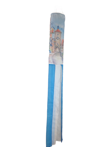 Polyester Wind Sock: Euro Village - DutchNovelties