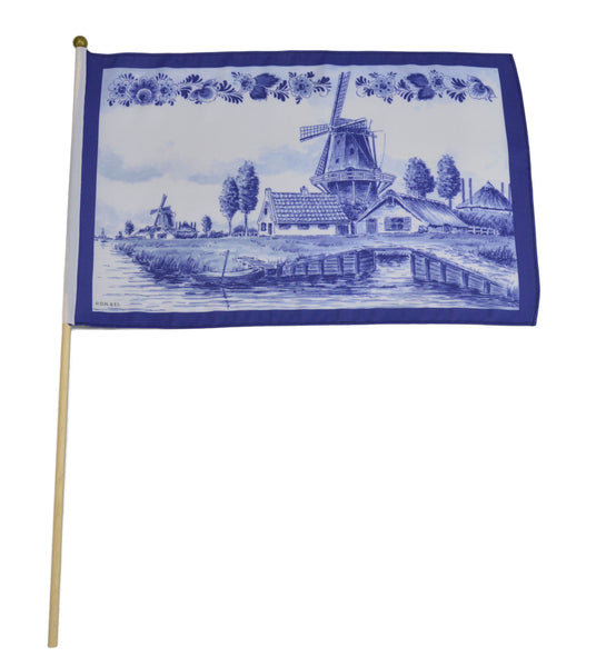 Dutch Windmill Flag: - DutchNovelties