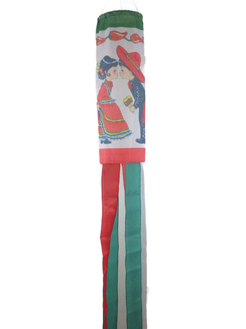 Polyester Wind Sock: Mexico - DutchNovelties