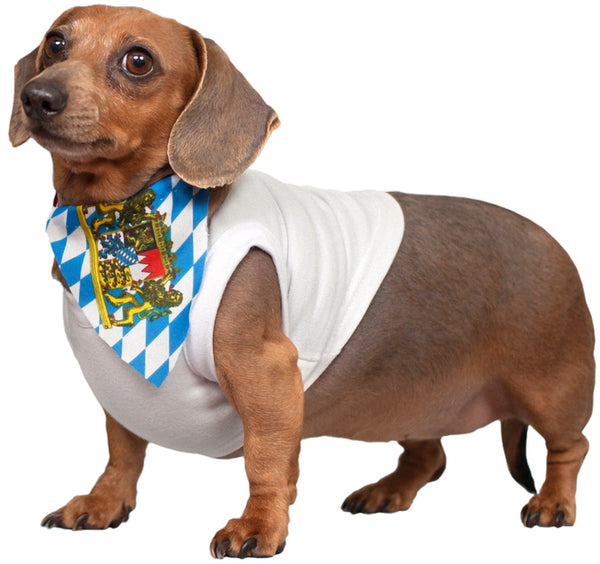 Weiner Dog Scarf Bavarian - DutchNovelties  - 2