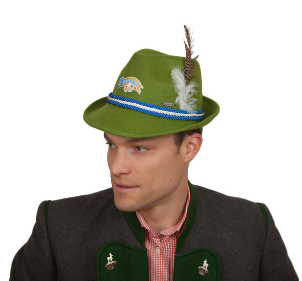 Oktoberfest Felt Hat Mint. - DutchNovelties