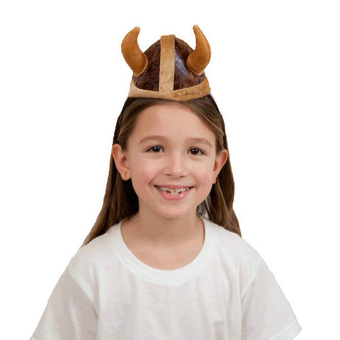Brown Norwegian Viking Hat Headband - DutchNovelties  - 1