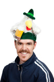Chicken in Lederhosen Oktoberfest Hat - DutchNovelties  - 3