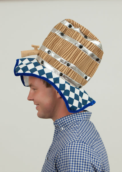 Party Hat for Oktoberfest Beer Keg - DutchNovelties  - 2