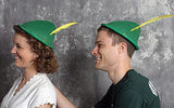 Oktoberfest Hat Green with Yellow Feather - DutchNovelties  - 7