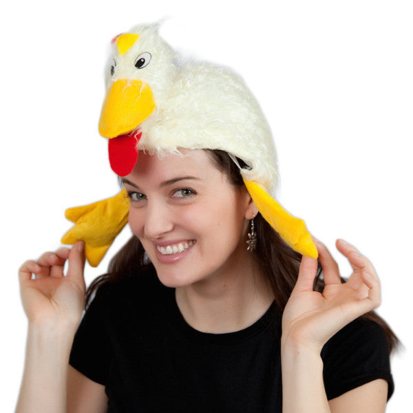 Rooster Chicken Dance Oktoberfest Hat Party Hats - DutchNovelties  - 1