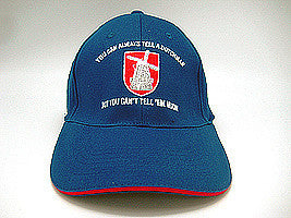 Dutch Gift Idea Hat: Tell A Dutchman.. - DutchNovelties