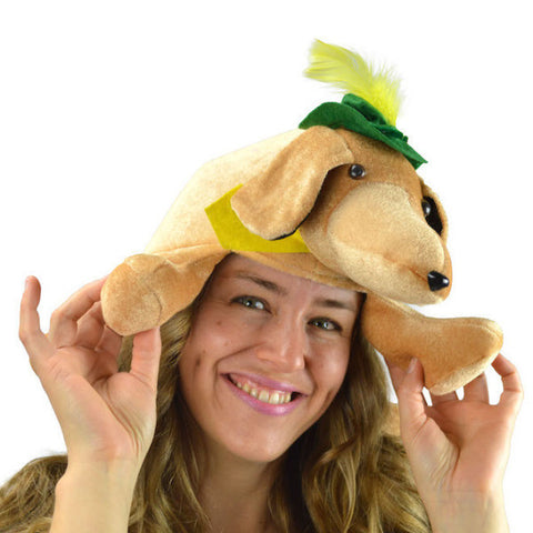 Festival Hat Weiner Dog Oktoberfest - DutchNovelties  - 1