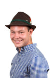 Traditional German Green Wool Hat