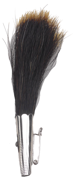 "Gamsbart Brush Hat Pin 5.5"" - DutchNovelties"