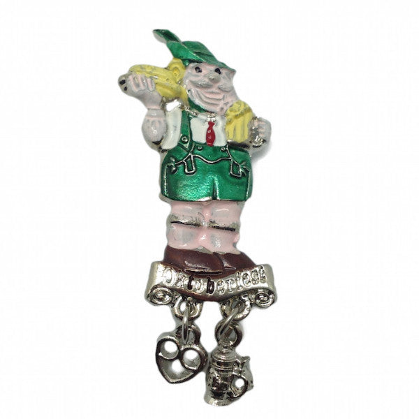 Bavarian Hat Pin: German Man (Painted) - DutchNovelties  - 1
