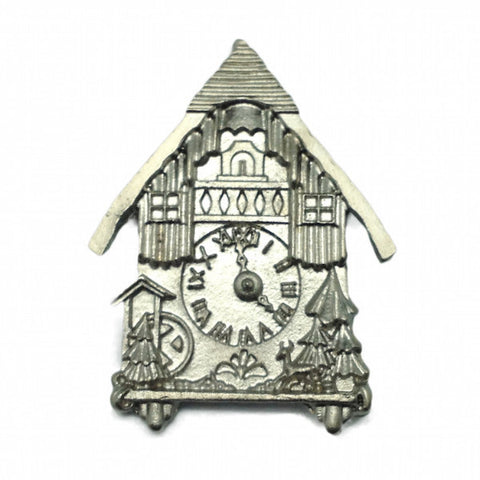 Bavarian Hat Pin: German Cuckoo Clock - DutchNovelties  - 1