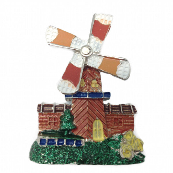 Bavarian Hat Pin: Windmill - DutchNovelties  - 1