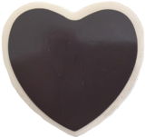 Ceramic Heart Tile Magnet: German Cook - DutchNovelties  - 2