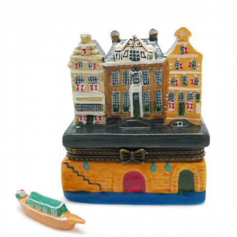 Small Jewelry Boxes Canal Houses - DutchNovelties  - 1