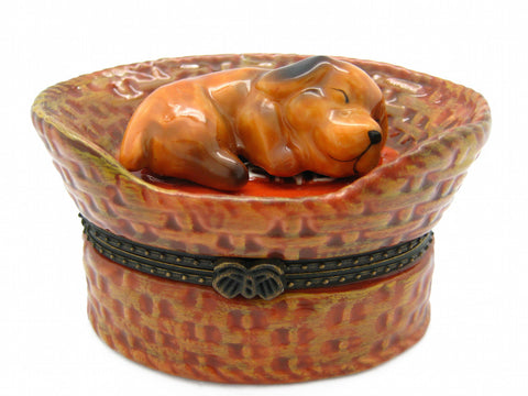 My Best Friend Dog Ceramic Jewelry Box - DutchNovelties