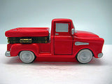 Box Red Pickup Truck Ceramic Jewelry Box - DutchNovelties  - 4